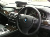 chauffeur car dashboard
